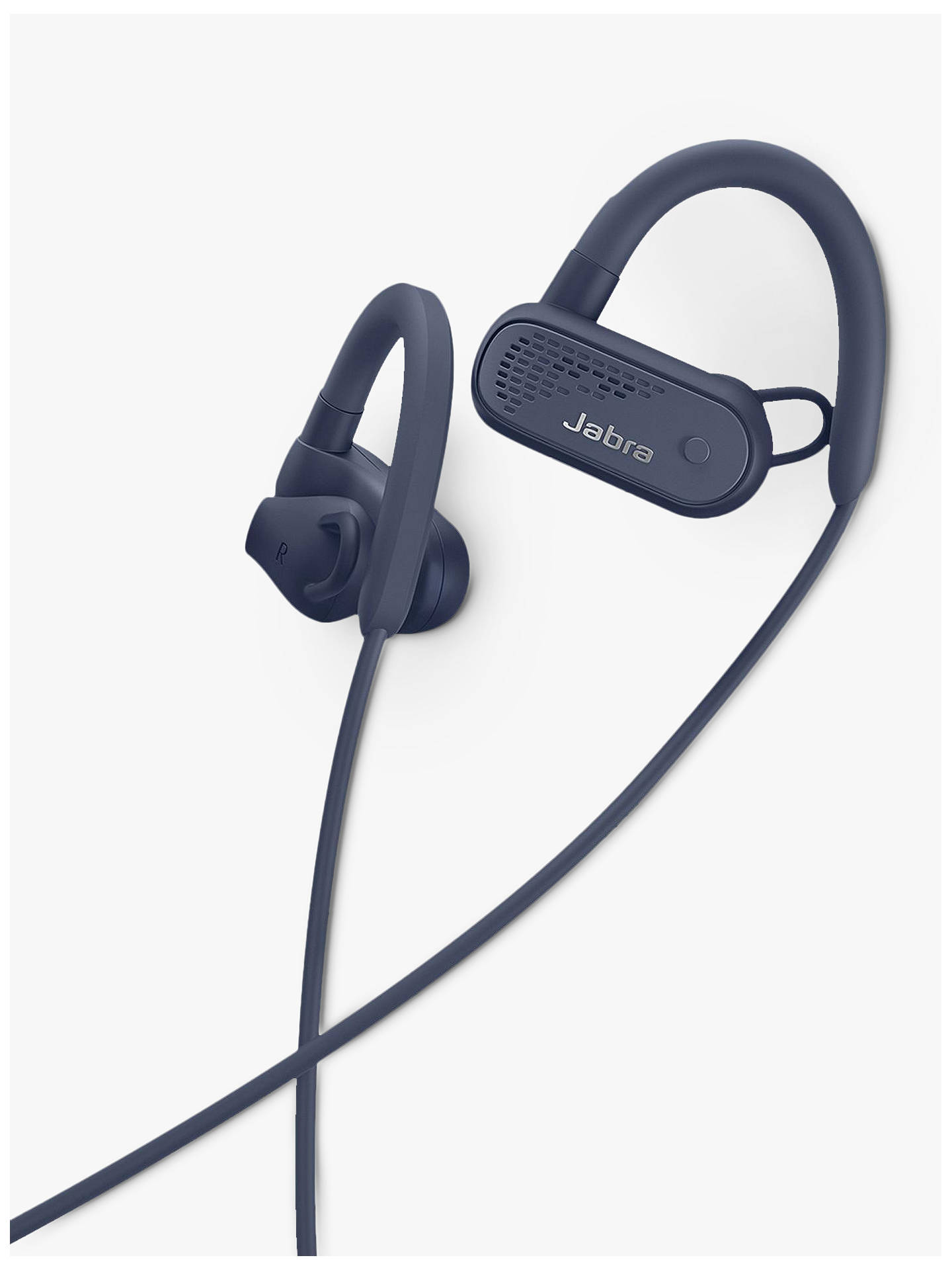 Buy Jabra Elite Active 45e Wireless Waterproof Bluetooth In-Ear Headphones with Mic/Remote, Navy Blue Online at johnlewis.com