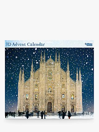 Woodmansterne Snow Falling on Milan Cathedral Advent Calendar