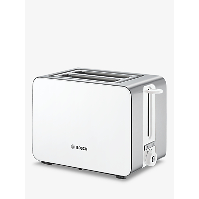 Image of Bosch TAT7201GB Sky 2-Slice Toaster, White