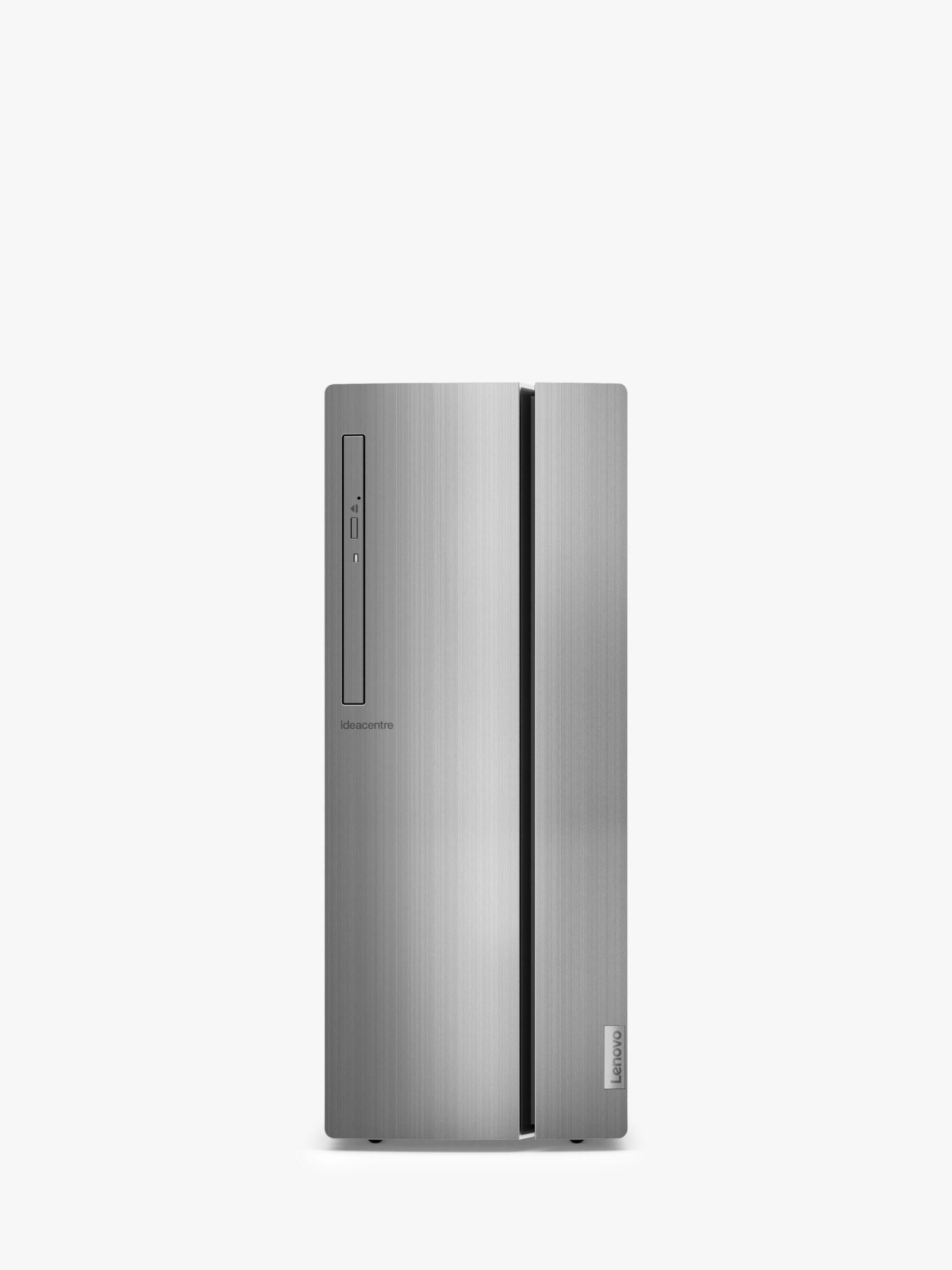 Lenovo Lenovo IdeaCentre 510 90HU00F8UK Desktop PC, Intel Core i7 Processor, 8GB RAM, 2TB HDD, Silver