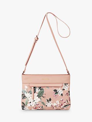 49766b601025 Fiorelli Chelsea Floral Cross Body Bag, Kew Pink