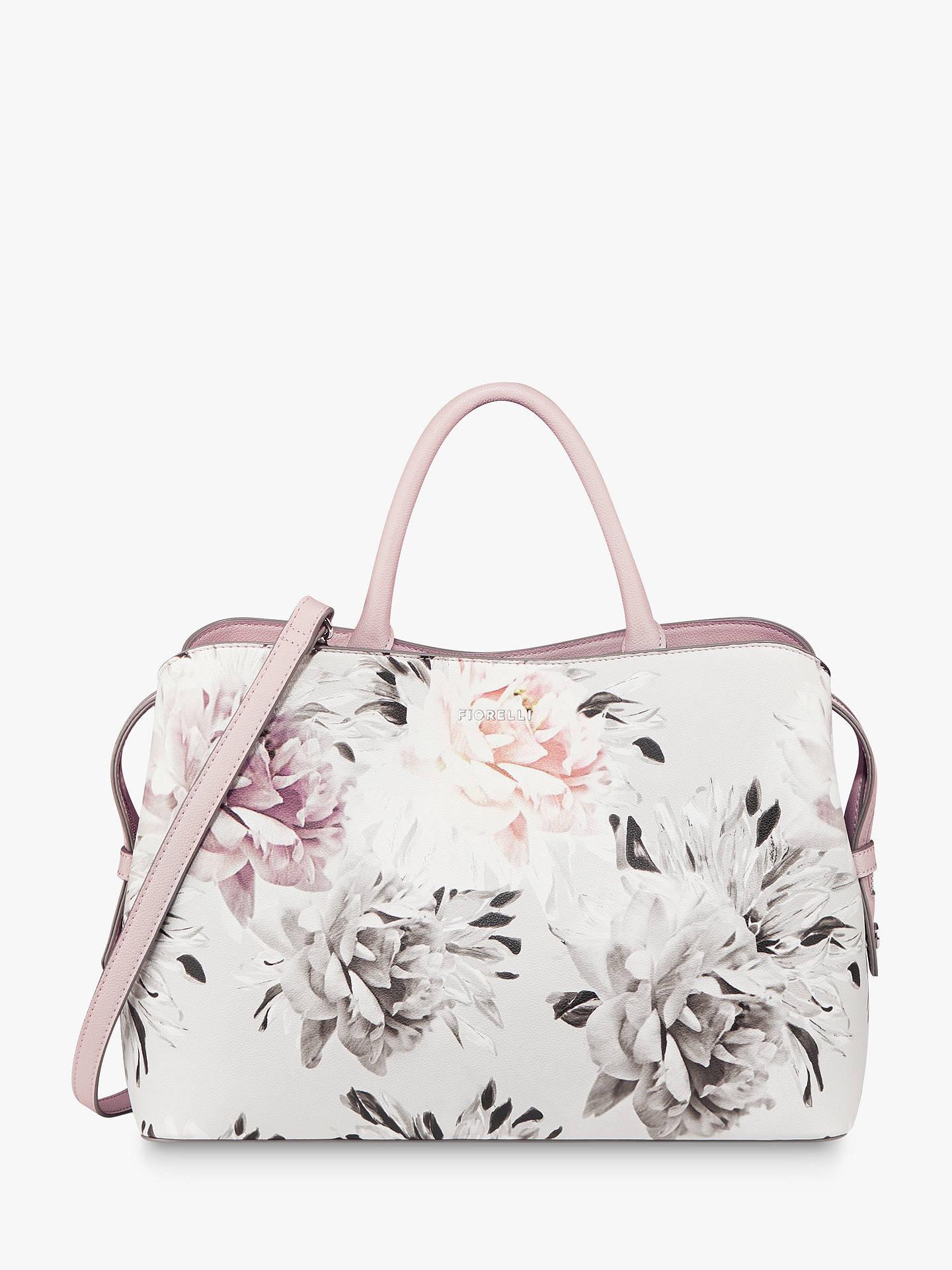 2755bd423933 Buy Fiorelli Bethnal Triple Compartment Grab Bag, Windsor Floral Online at  johnlewis.com ...