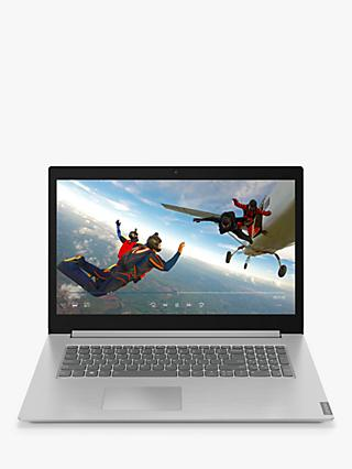 "Lenovo IdeaPad L340-17IWL Laptop, Intel Core i3 Processor, 8GB RAM, 128GB SSD, 17.3"" Full HD, Grey Dark"