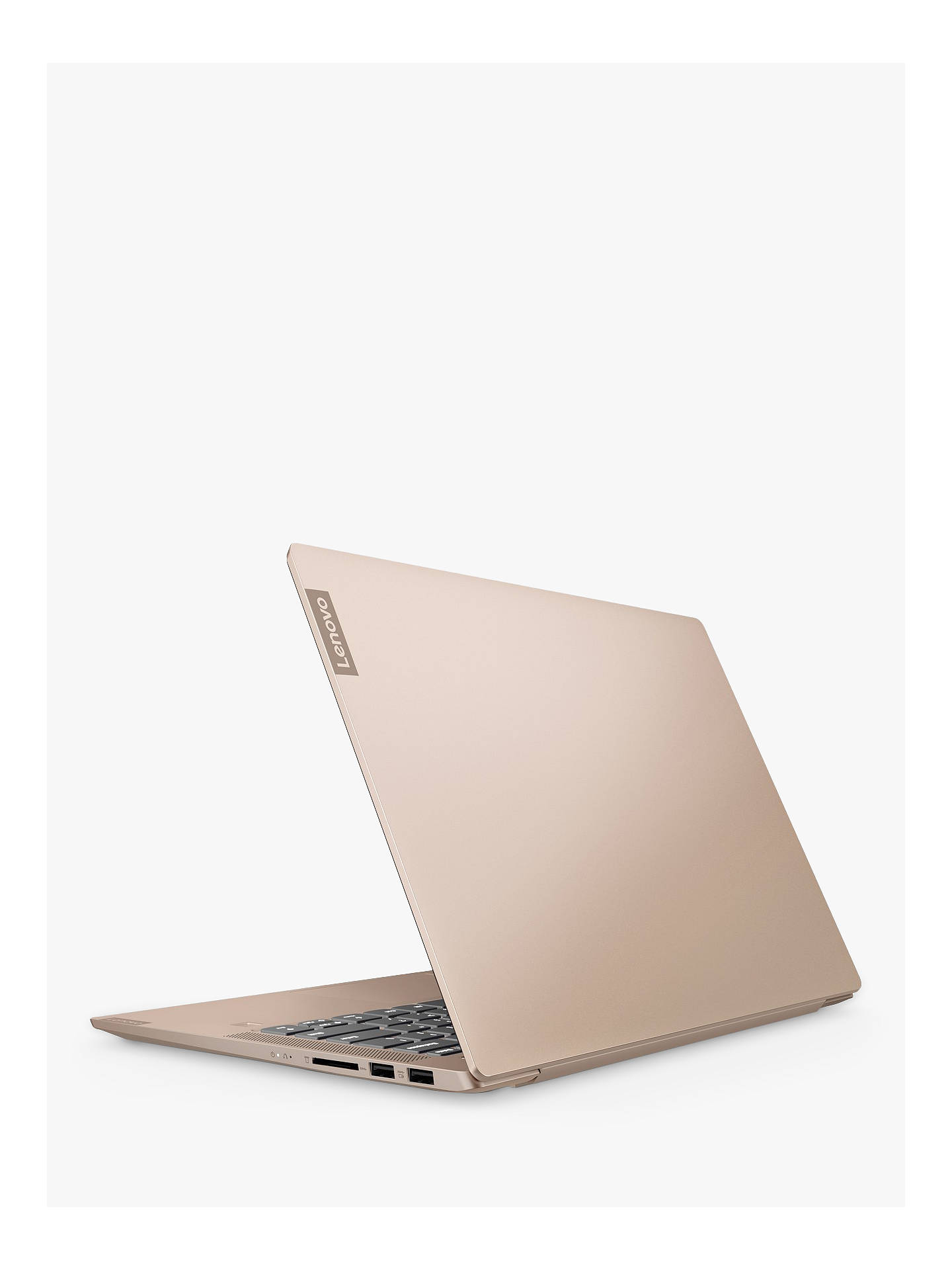 "Buy Lenovo IdeaPad Ideapad S540-14API Laptop, AMD Ryzen 5 Processor, 8GB RAM, 256GB SSD, 14"" Full HD, Rose Gold Online at johnlewis.com"