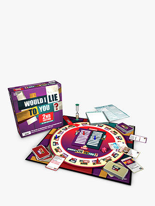Buy Would I Lie To You? Board Game 2019 Online at johnlewis.com