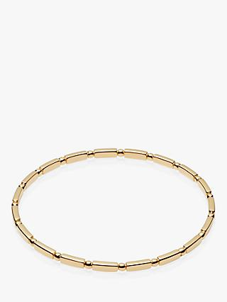 Daisy London Stacked Bead and Bar Bangle