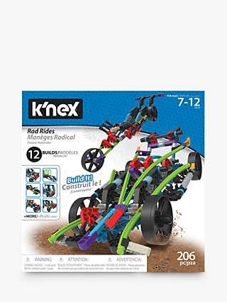 K'Nex 15214 Rad Rides 12 In 1 Building Set