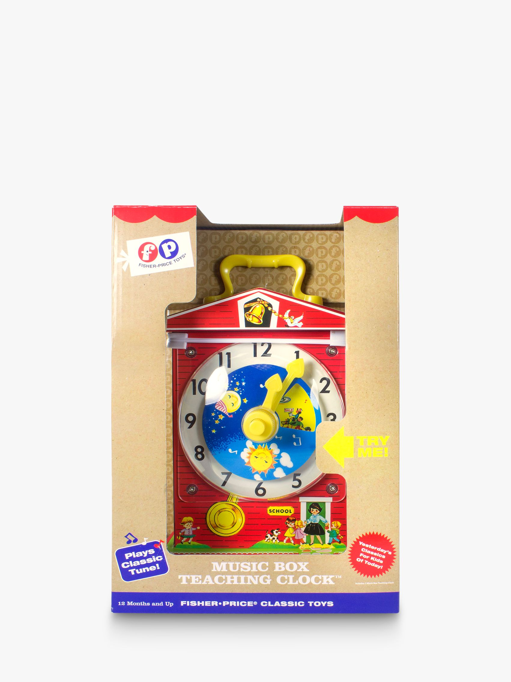 Fisher-Price Fisher Price Classic Music Box Teaching Clock