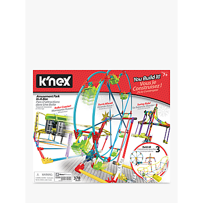 KNEX 34042 Tabletop Thrills Amusement Park in a Box