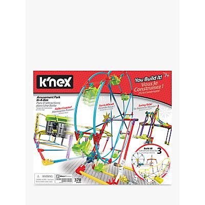 K'NEX 34042 Tabletop Thrills Amusement Park in a Box
