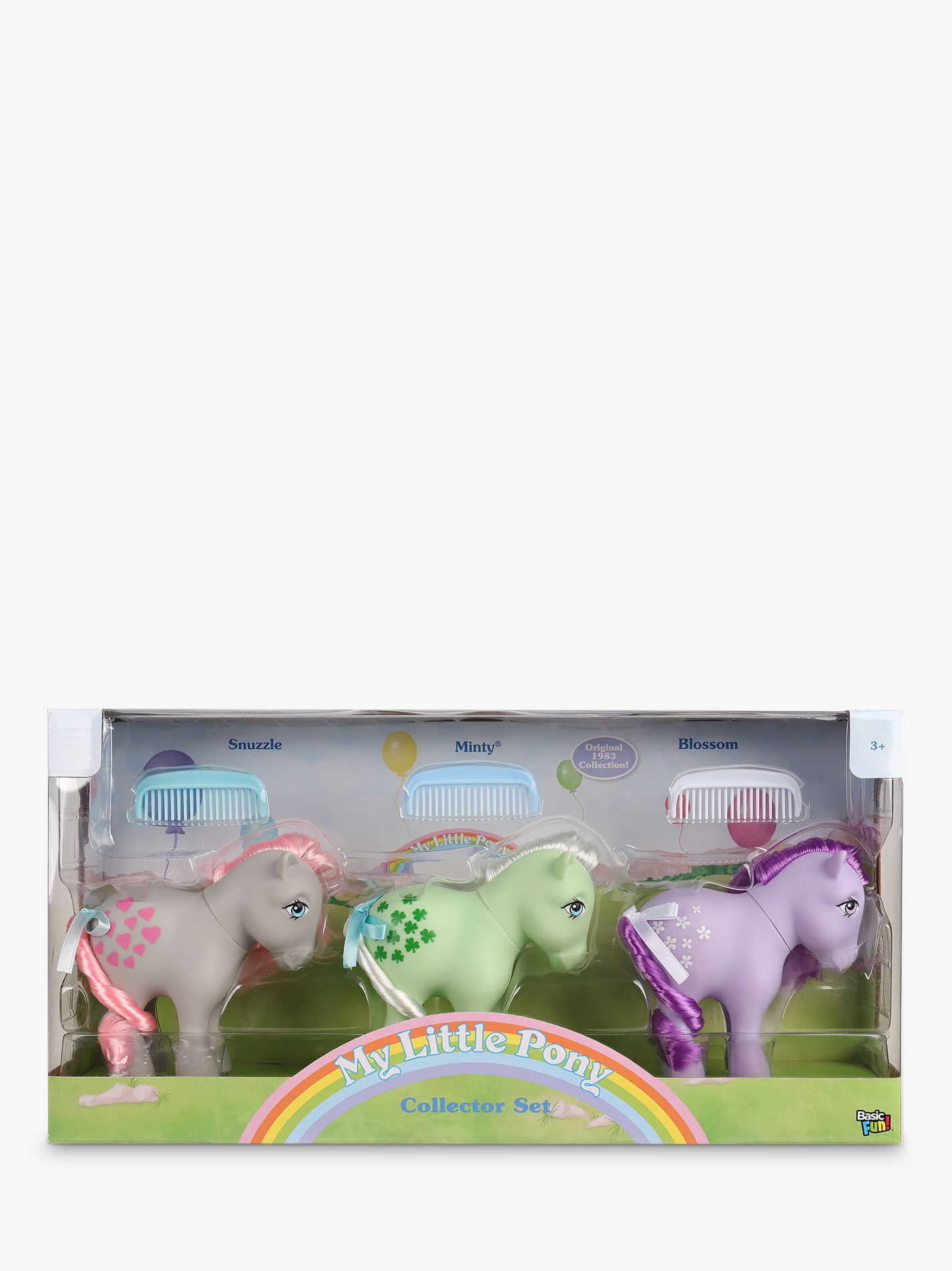 My Little Pony My Little Pony Classic 3 Pack: Snuzzle, Minty, Blossom