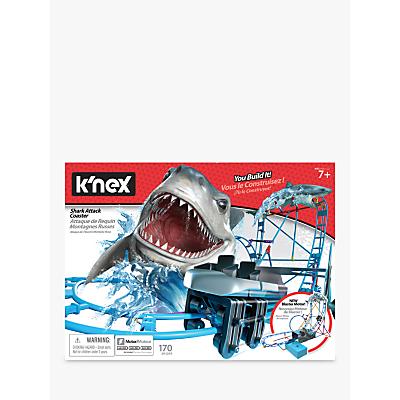 K'Nex 34041 Tabletop Thrills Shark Attack Coaster