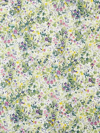 Spendlove Garden Scene Print Fabric, Multi
