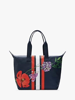 Ted Baker Jennsa Tote Bag, Dark Blue/Multi