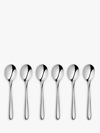 John Lewis & Partners Oval Teaspoons, Set of 6