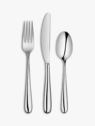 John Lewis & Partners Arc Cutlery Set, 2 Place Settings