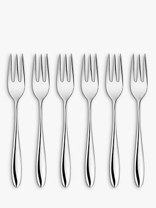 John Lewis & Partners Taper Pastry Forks, Set of 6