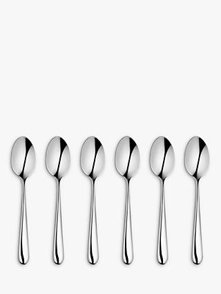 John Lewis & Partners Arc Teaspoons, Set of 6