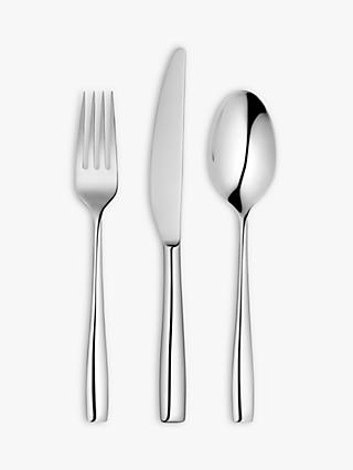 John Lewis & Partners Edge Cutlery Set, 18 Piece/6 Place Settings