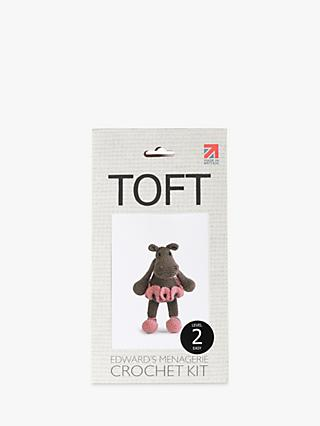 TOFT Georgina The Ballerina Hippo Crochet Kit