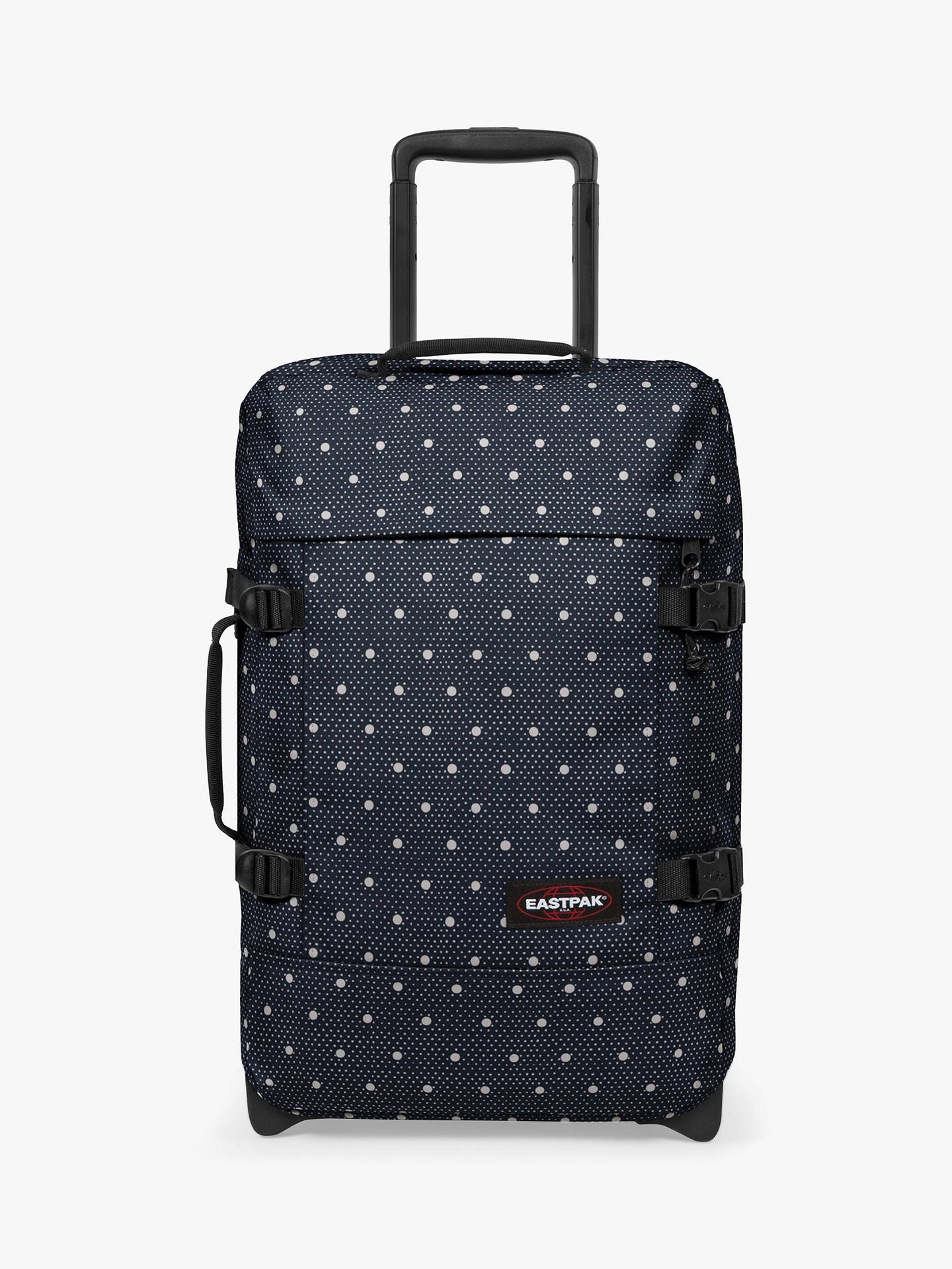 Buy Eastpak Tranverz 2-Wheel 51cm Cabin Case, Little Dot Online at johnlewis.com