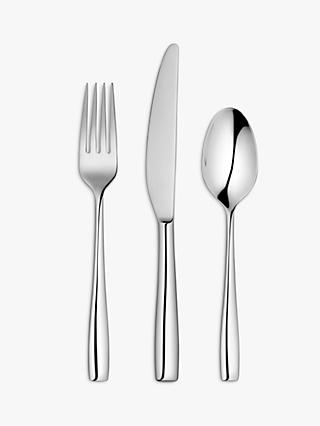 John Lewis & Partners Edge Cutlery Set, 2 Place Settings