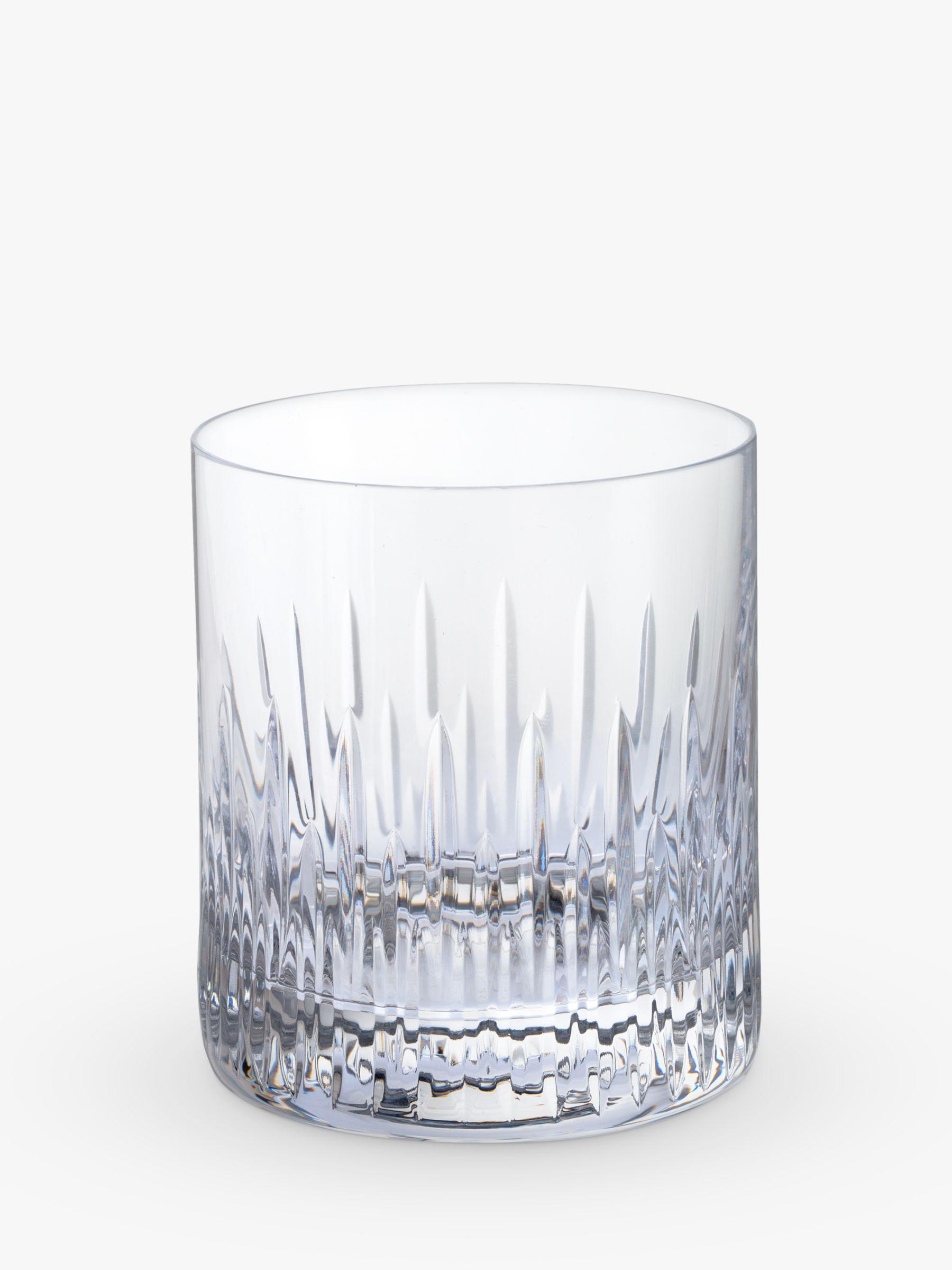 Dartington Crystal Dartington Crystal Limelight Cut Glass Tumblers, Set of 2, 380ml, Clear