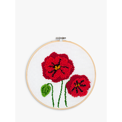 Image of Dimensions Punch Needle Poppy Craft Kit