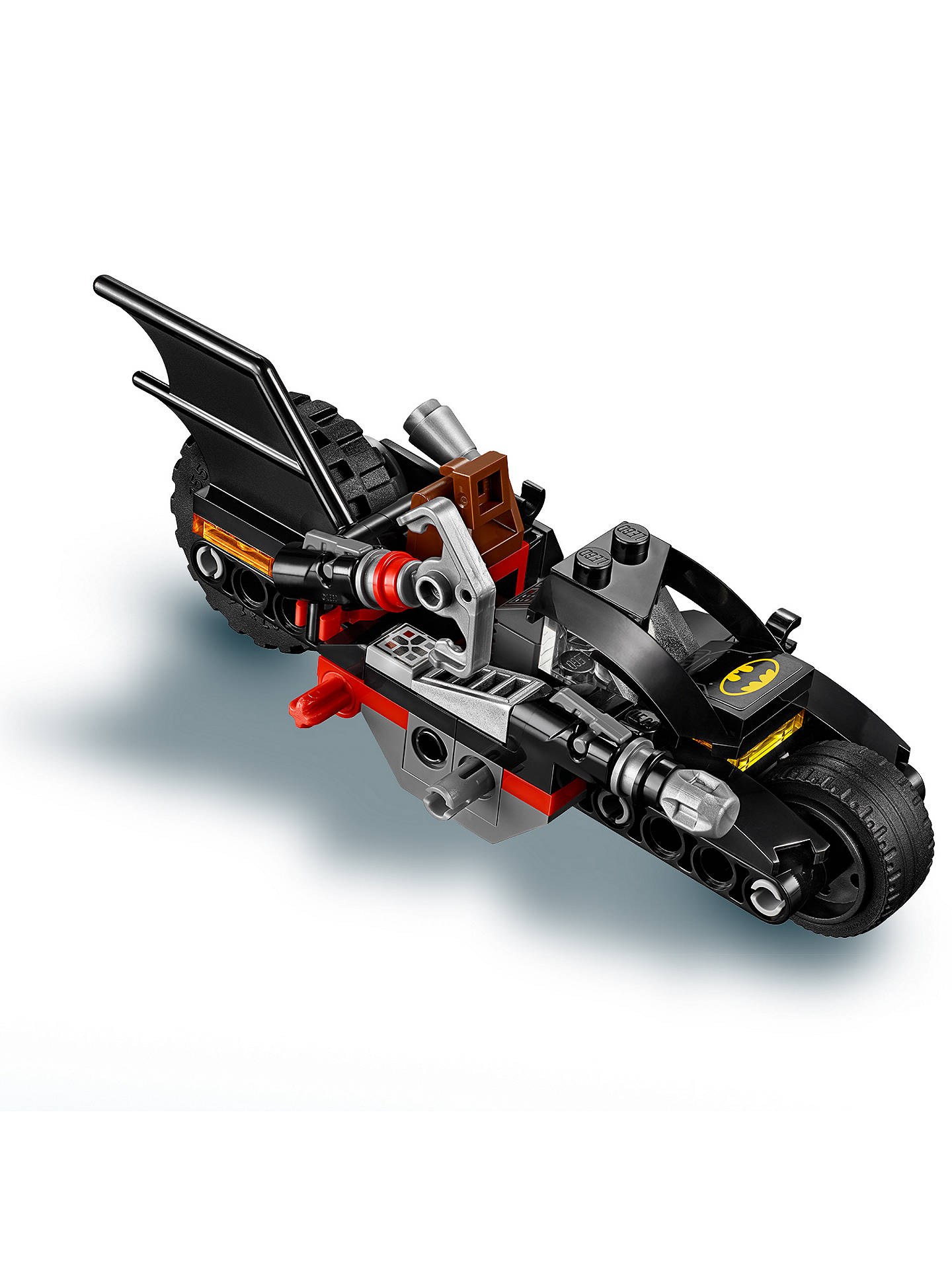 WHITE Motorcycle ~  Lego ~ Bat Man Series ~ MINT~