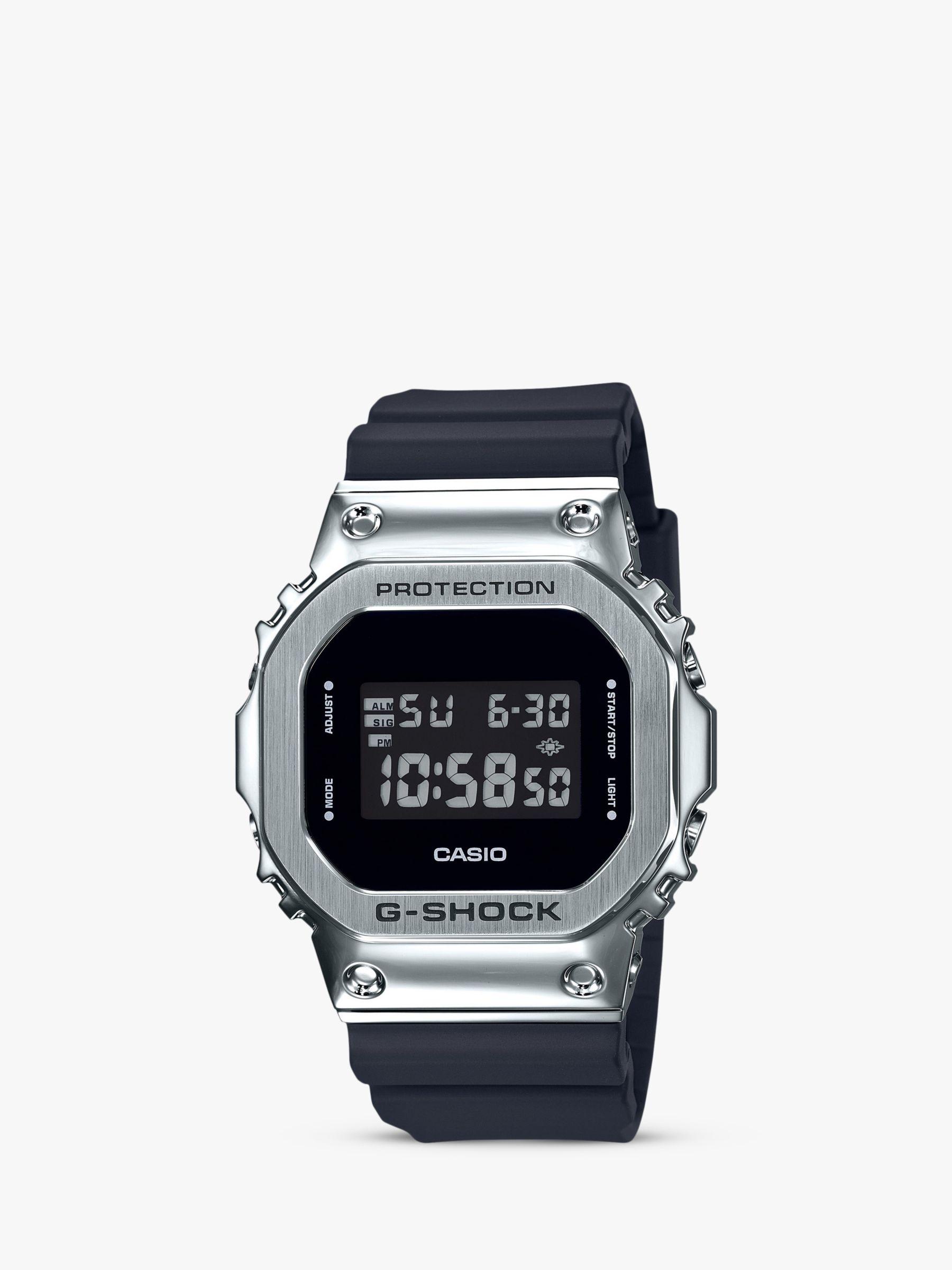 Casio Casio GM-5600-1ER Men's G-Shock Digital Resin Strap Watch, Black