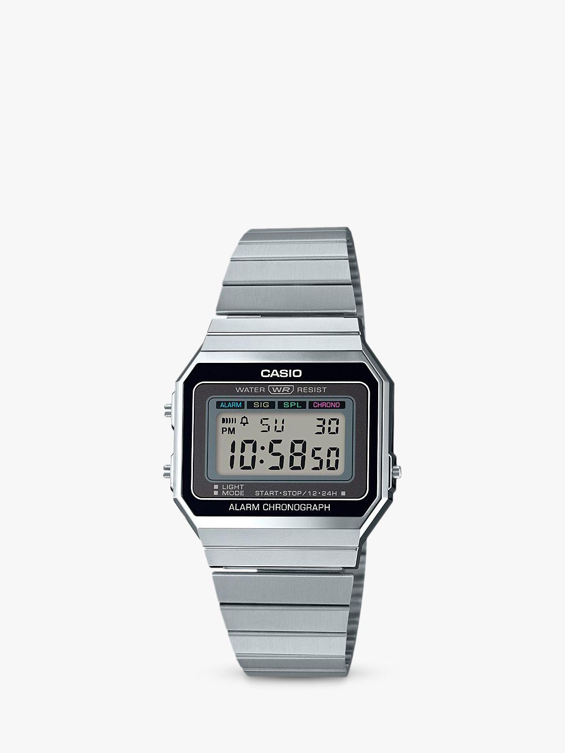 Casio Casio Unisex Bracelet Strap Watch