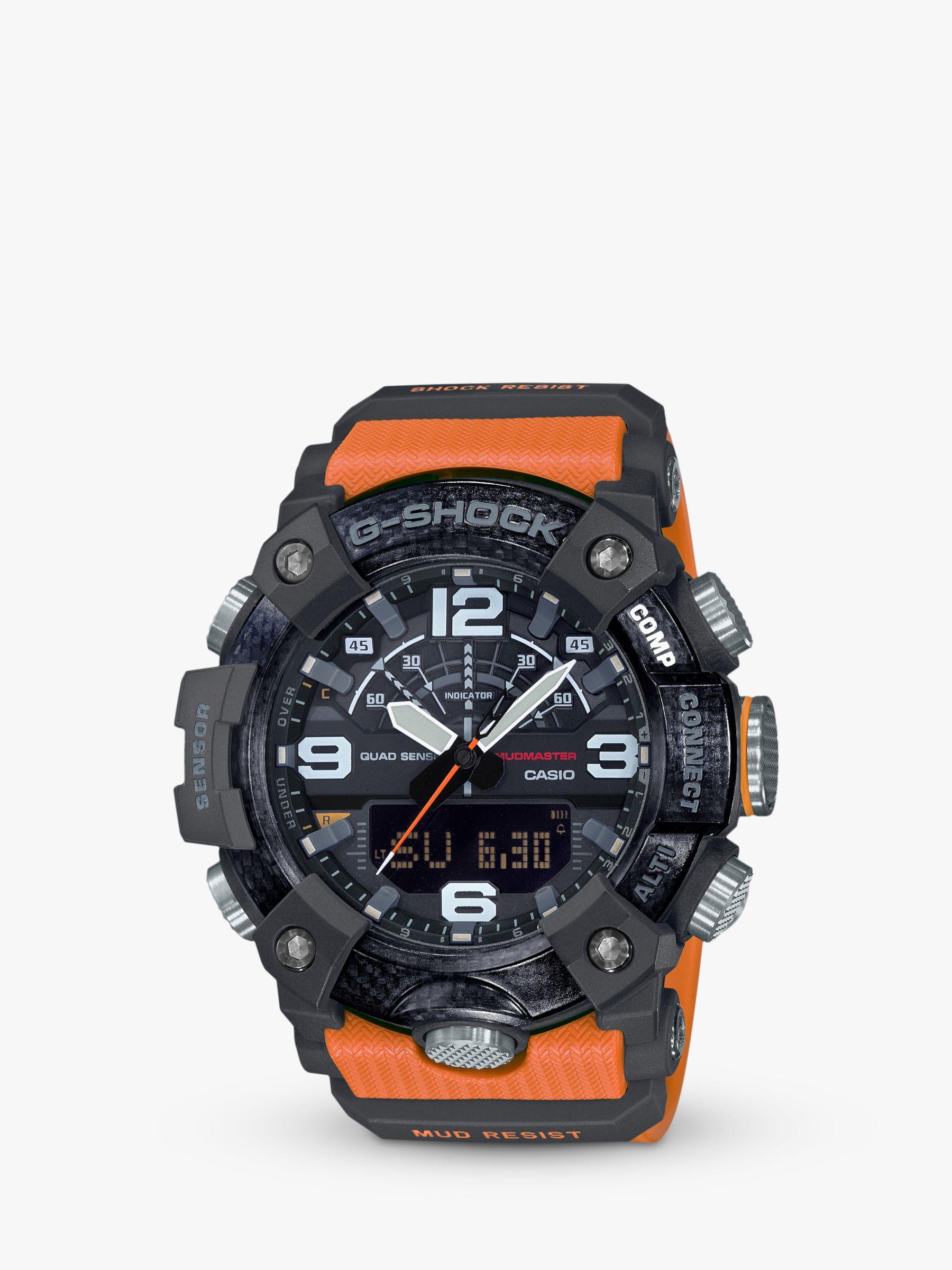 Casio Casio Men's G-Shock Mudmaster Bluetooth Day Resin Strap Watch