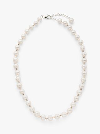 Lido Freshwater Pearl Necklace, White