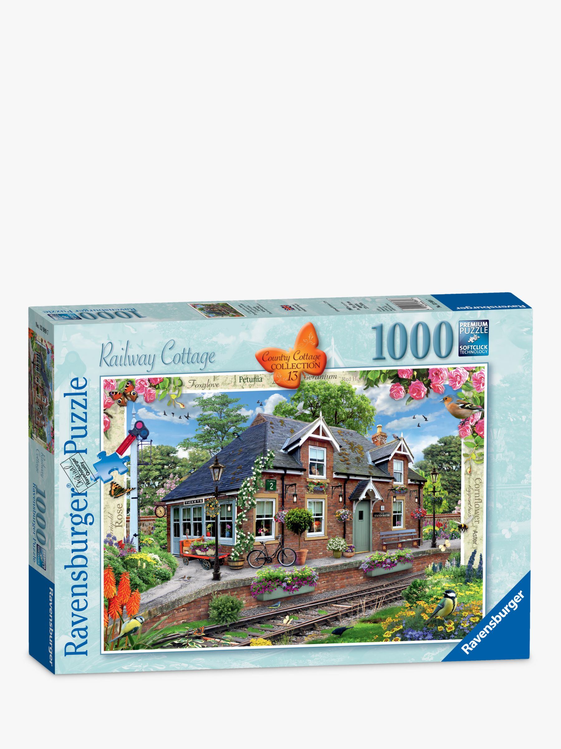 Ravensburger Ravensburger Railway Cottage Jigsaw Puzzle, 1000 Pieces