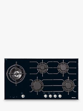 Miele KM3054-1 Integrated Gas Hob, Black