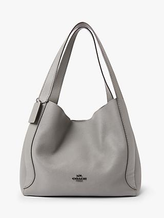 Coach Hadley Leather Hobo Bag