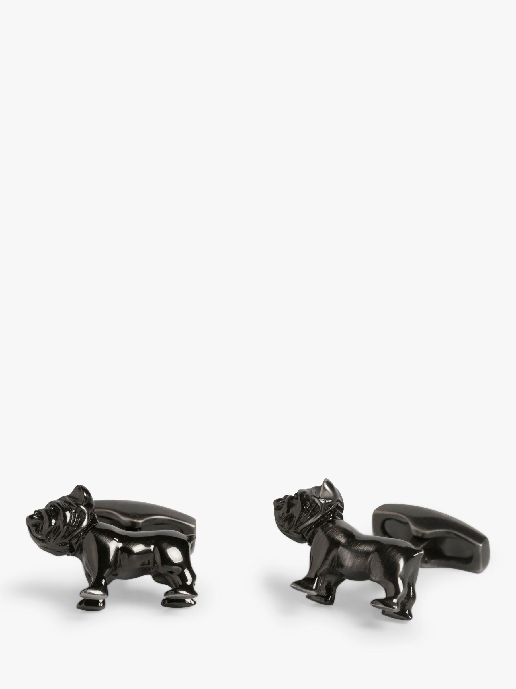 Simon Carter Simon Carter Bulldog Cufflinks, Antique Brass