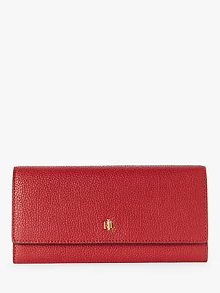 Lauren Ralph Lauren Elmswood Leather Continental Purse