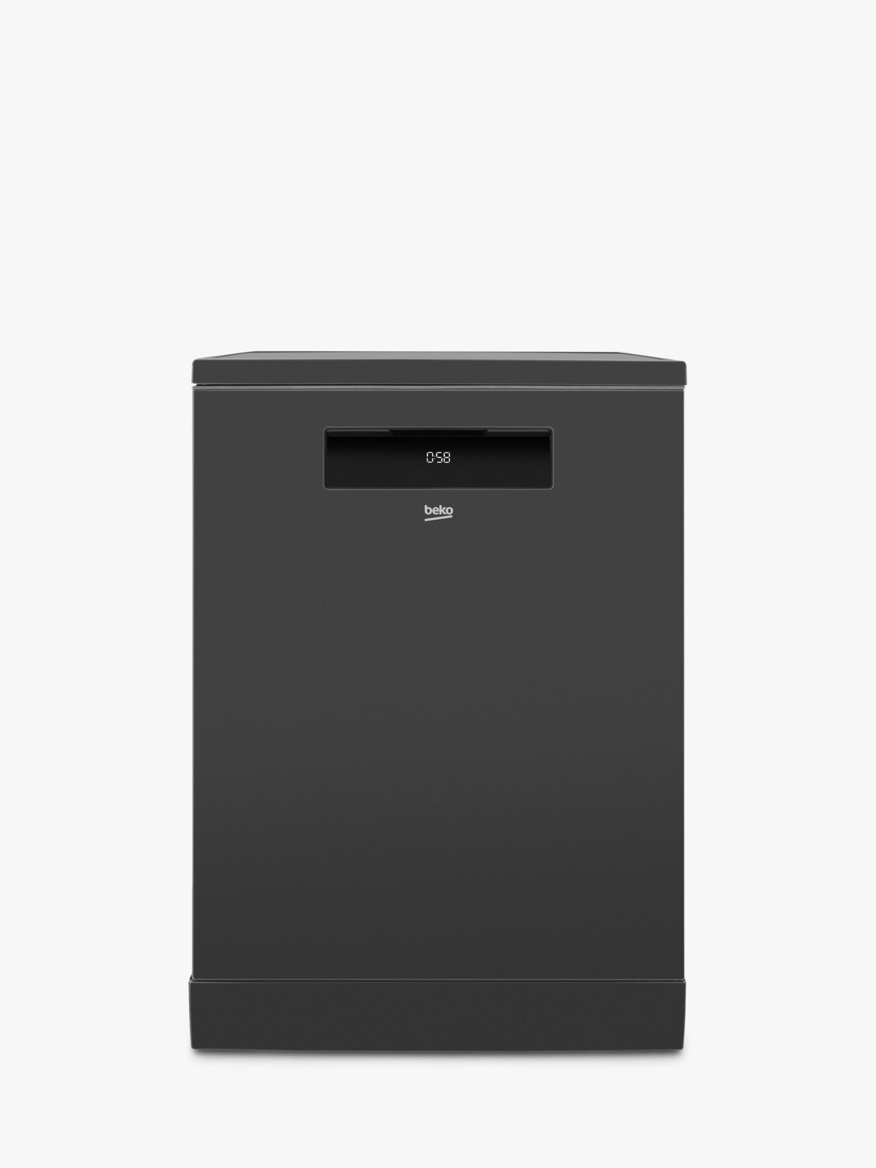 Beko Beko DEN59420DG Freestanding Dishwasher, A++ Energy Rating, Graphite