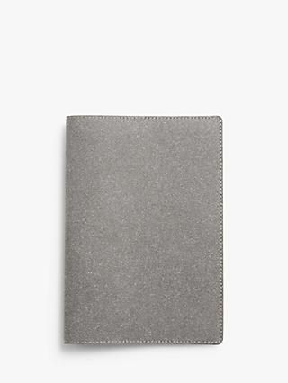 John Lewis & Partners Recycled Leather A5 Notebook Cover