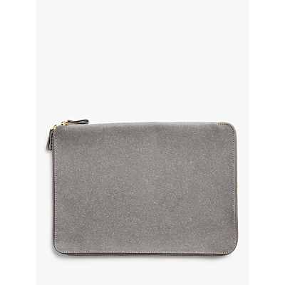Image of John Lewis & Partners Recycled Leather Laptop Case