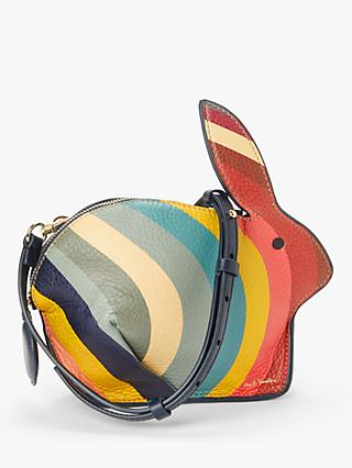 Paul Smith Leather Rabbit Cross Body Bag, Swirl/Multi
