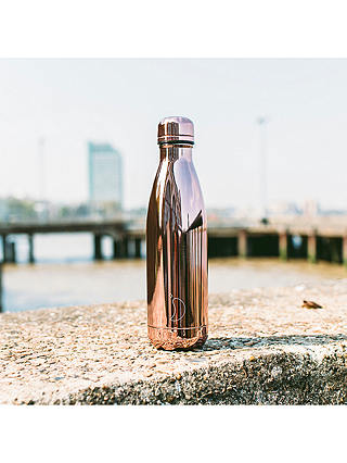 Buy Chilly's Vacuum Insulated Leak-Proof Drinks Bottle, 500ml, Rose Gold Online at johnlewis.com