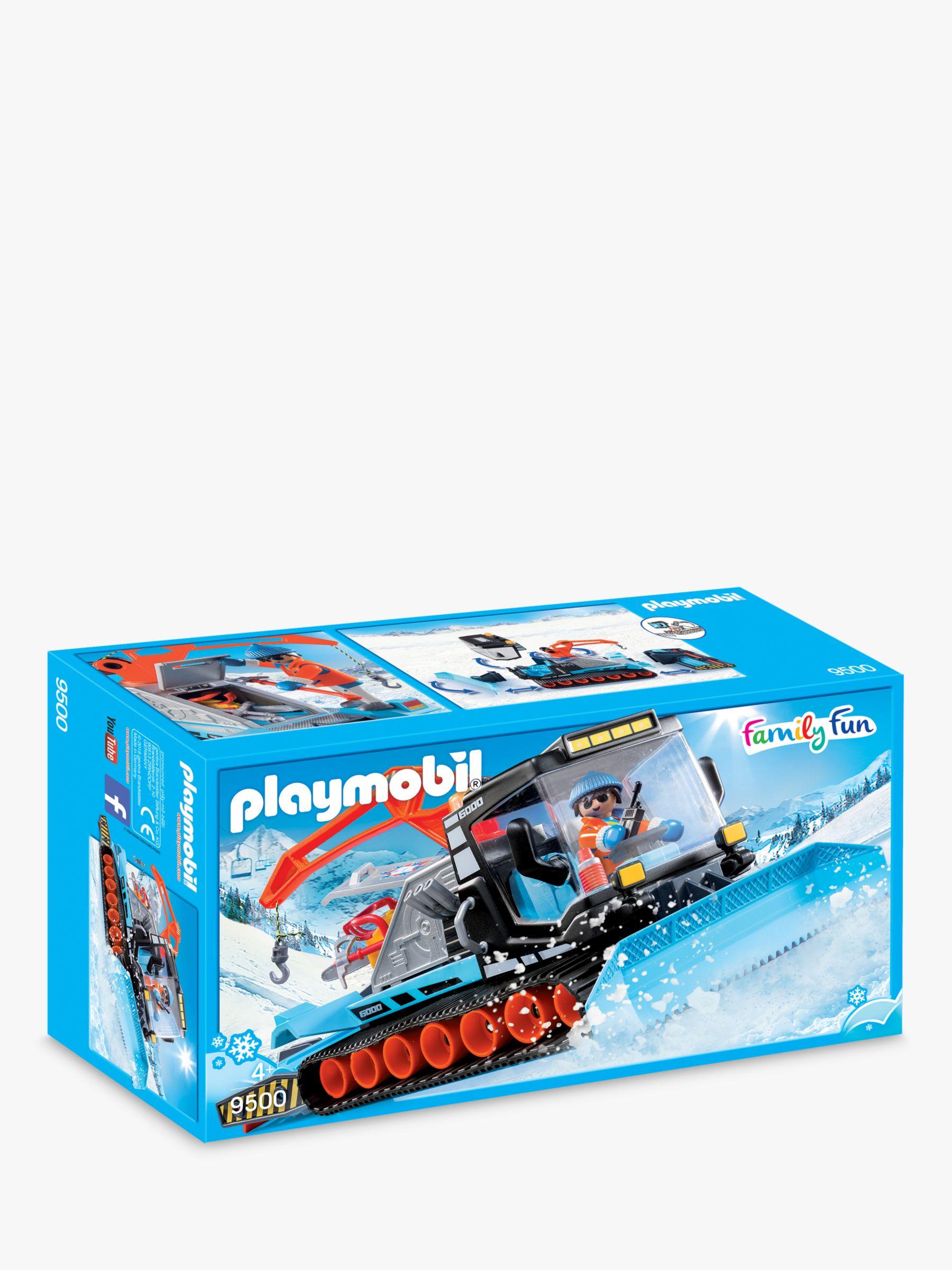PLAYMOBIL Playmobil Family Fun 9500 Snow Plough