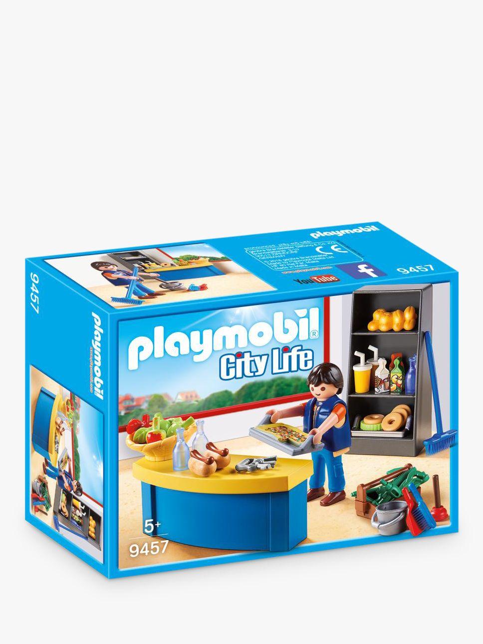 PLAYMOBIL Playmobil City Life 9457 School Janitor