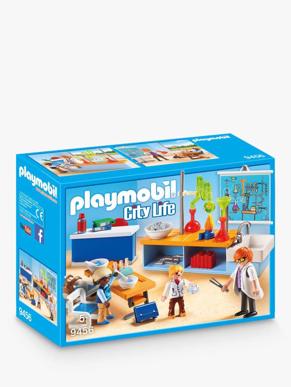 PLAYMOBIL Playmobil City Life 9456 Chemistry Class