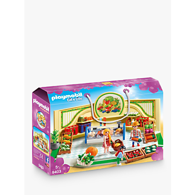 Playmobil City Life 9403 Grocery Shop