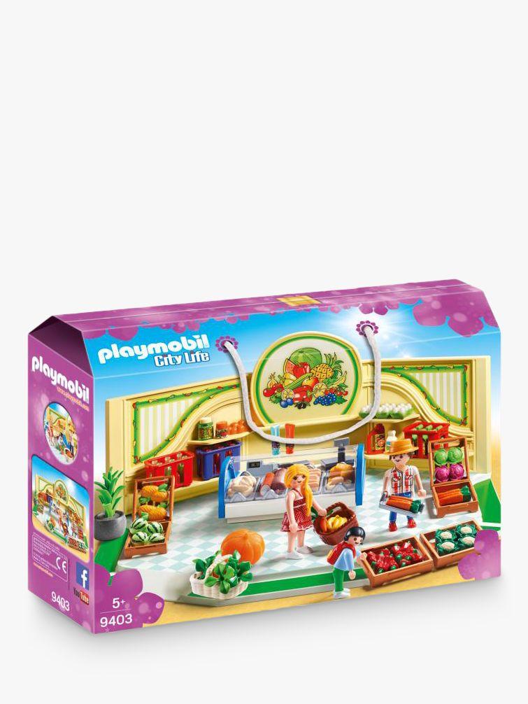 PLAYMOBIL Playmobil City Life 9403 Grocery Shop
