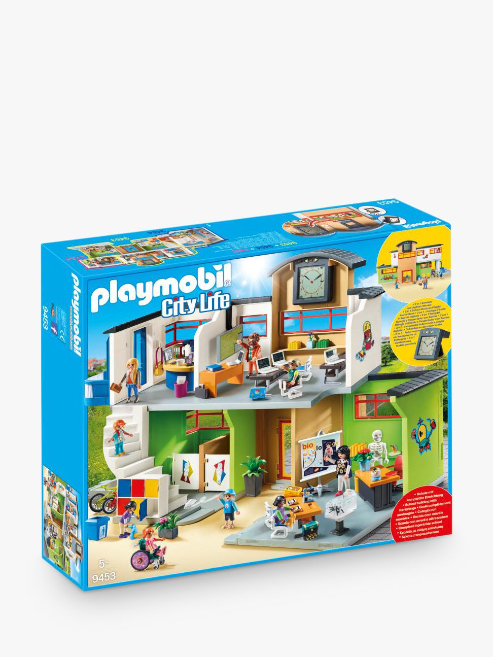 PLAYMOBIL Playmobil City Life 9453 School Building