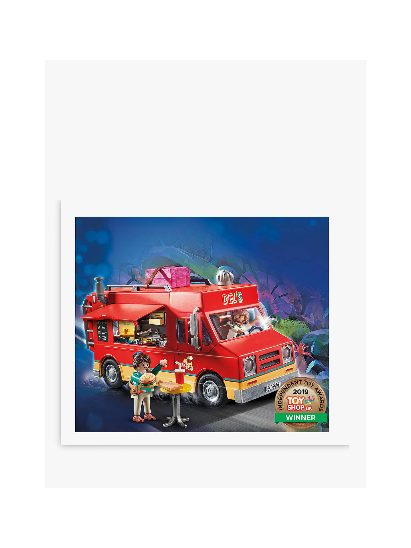 Playmobil The Movie 70075 Del's Food Truck by Playmobil